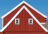 House red gable ends