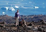 Robin on Uummannaq mountain