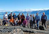 Uummannaq mountain group picture