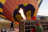 Hot Air Balloon trip in Göreme 2012