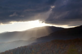 Evening Light-View From Newfound Gap Road