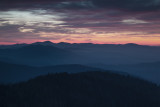 Dawns Colors From Clingmans Dome Tower