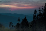 End Of The Day Near Clingmans Dome