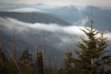 Looking Across The Park From The  Clingmans Dome Overlook