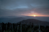 Sunrise View From Clingmans Dome