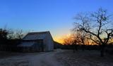old barn HDR