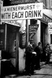 1890's - Outside a bar