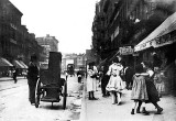 1900 - Organ grinder on the Lower East Side