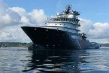 Douarnenez 2006 - Le 28 juillet - Le remorqueur de haute mer Abeille Bourbon photo 31