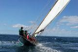1 Douarnenez 2006 - Jeudi 27 juillet - Pen Duick 1er voilier mythique d'Eric Tabarly