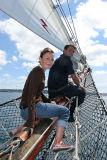 Douarnenez 2006 - Vendredi 28 juillet  - A bord de La Belle Poule