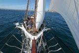 Douarnenez 2006 - A bord de la goélette La Belle Poule le 28/07