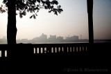 Early morning, Weat Bank at Howrah, across Kolkata