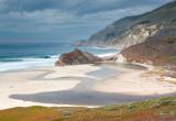 little sur rivermouth, big sur, california