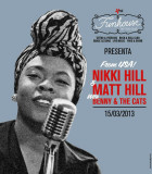 NIKKI HILL & MATT HILL (USA) with BENNY AND THE CATS (ITA) @ Fun House Tattoo Club - 15/03/2013