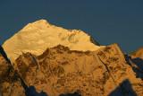 Everest from NE at sunrise