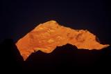 Everest  Northeast  at sunrise