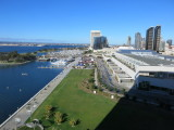 San Diego view from hilton bayfront