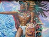 San Diego mural on Mexican restaurant