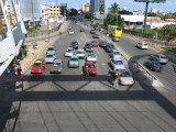 Santo Domingo vendors at traffic lights