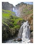 Roaring waterfall