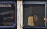 City bus passengers
