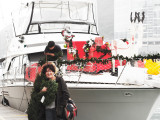 Collecting Tree and Wreath from Santa's Yacht