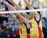 Queen's vs Winnipeg M-Volleyball 10-13-12