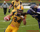 Queen's vs Laurier Football 10-27-12