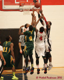 St Lawrence College vs Fleming  M-Basketball 11-21-12