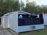 Observatory south side - open