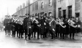 1923 - Burton Citadel Band @ the Open Air in Brownhills (Bandmastet Charlie Teat)