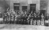1923 - Burton Citadel Band outside the Hall @ Brownhills