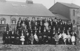 1934 - Burton Citadel Home League Behind Brook Street Hall. (Home League Sec Emmie Mortlock)