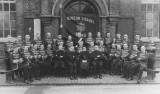 1935 Burton Citadel Band Outside Brook Street Hall (Bandmaster Bert Matkin- Bandmaster Harry Foster)