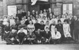 1933 - Outside Brook Street Hall - Sale of Work