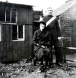1914 - Mr & Mrs Bill Porter (Just Married):