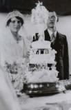 1933 Circa - Bill Ida Porter @ their wedding
