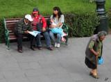 2013_02_13 Park Benches at Plaza de Armas