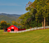 A Red Barn.