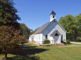 The Choates Creek Methodist Church, Circa 1854