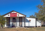 Apparently this bar in Sandoval, TX is a 3 star  establishment.