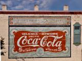 A Coke wall in Quincy, FL