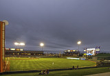 Dell Diamond, home of the Round Rock Express,  AAA affiliate of the Texas Rangers