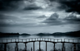 Otago Harbour in a blue mood.