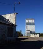 Kismet, KS old grain elevator.