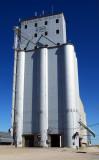 Ensign, KS grain elevator.