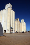 Rolla, KS grain elevators.