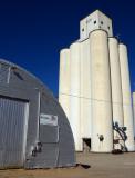 Rolla, KS west grain elevator.