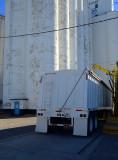 Elkhart, KS grain elevator.